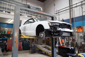 Amatos Auto Body Factory Authorized Certified San Diego Audi S4 Painting Buffing Framing