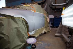 Amatos Auto Body Factory Authorized Certified San Diego BMW E90 330i Painting Buffing Polishing 1