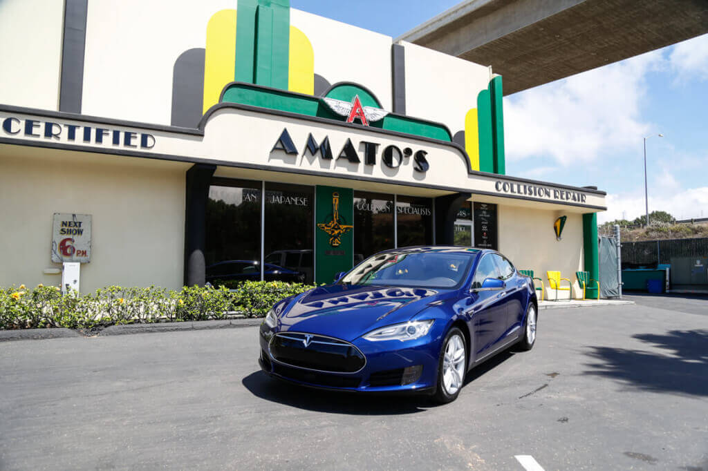 Amato 39 s auto body rated 1 repair facility in san diego for Import motors san diego