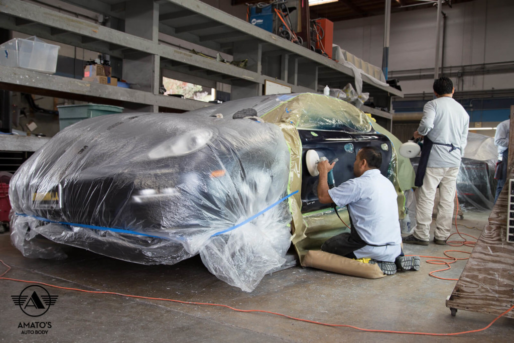 Amatos-Auto-Body-Porsche-Authorized-Panamera-Auto-Body-Paint-Buffing-Polishing